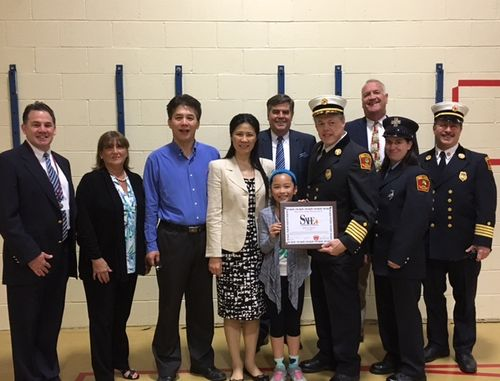 Third Grade Student Named Young Hero After Discovering A House Fire